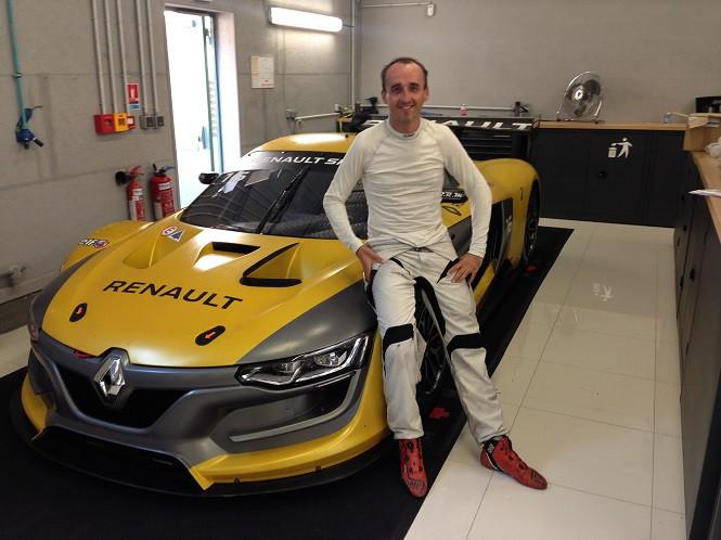 Robert Kubica zasiądzie za kierownicą  Renault Sport R.S.01 na torze SPA!