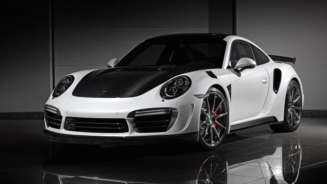 Rosyjski TopCar poprawił Porsche 911 Turbo S