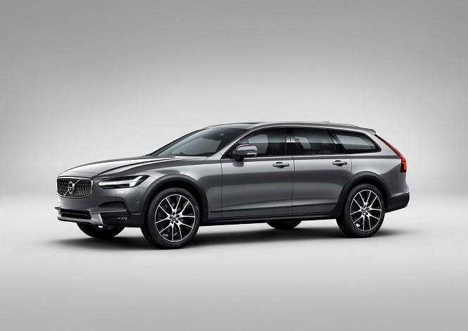 Volvo zaprezentowało nowe V90 Cross Country