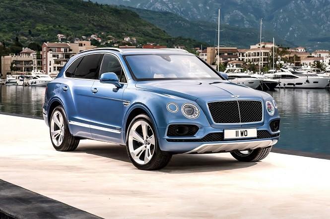 Bentley Bentayga Diesel: pierwszy w historii Bentley z silnikiem wysokoprężnym