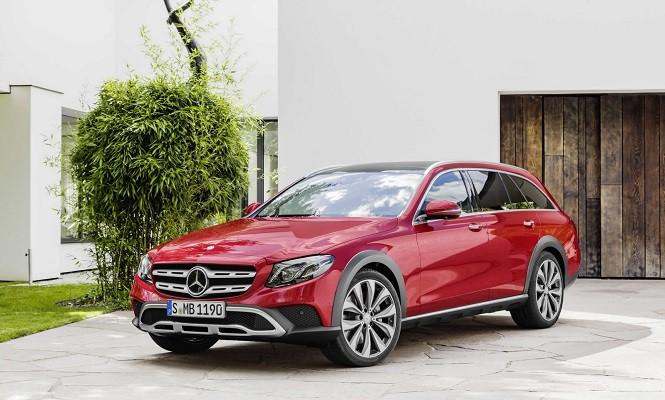 Mercedes-Benz Klasy E All-Terrain: uterenowione kombi