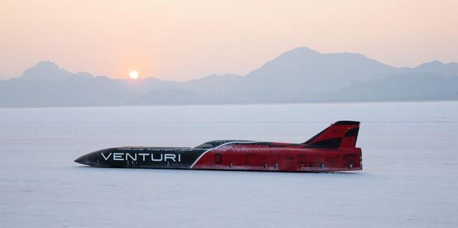 Venturi VBB-3 pobiło rekord prędkości dla pojazdów elektrycznych