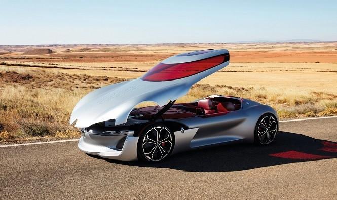 Renault Trezor: przepiękny samochód koncepcyjny