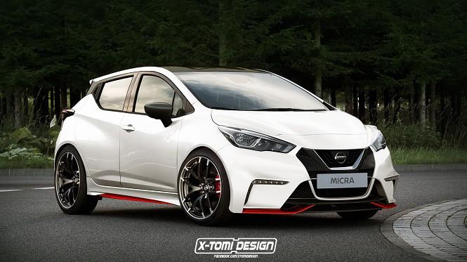 Ciekawa wizja X-Tomiego na temat Nissana Micry Nismo