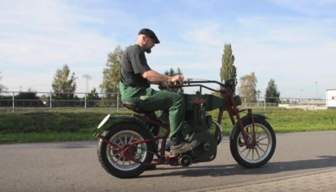 Lister – jedyny w swoim rodzaju motocykl z silnikiem stacjonarnym