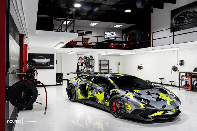 Novitec zmodyfikował Lamborghini Aventadora SV