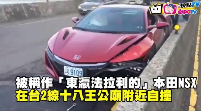 Pierwsza nowa Honda NSX rozbita