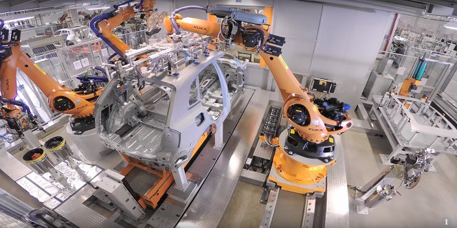 Tak produkuje się nowe Audi Q5