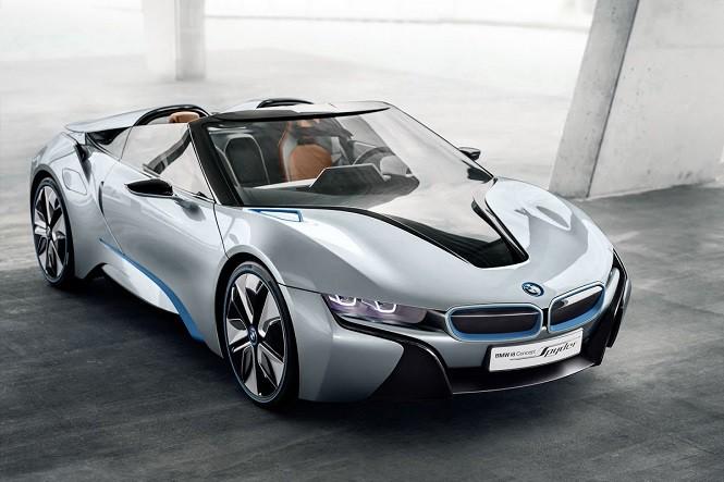 BMW i8 Roadster wyjedzie na drogi w 2018 roku