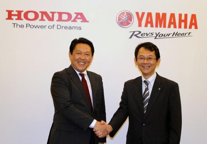 Honda i Yamaha wspólnie będą pracować nad skuterami