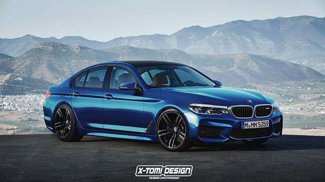 Tak będzie wyglądać nowe BMW M5?