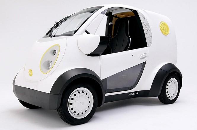 Honda pokazała samochód elektryczny z drukarki 3D