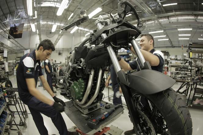 BMW otworzyło fabrykę motocykli w Brazylii