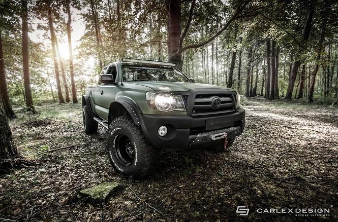 Carlex Design zmodyfikował Toyotę Tacomę