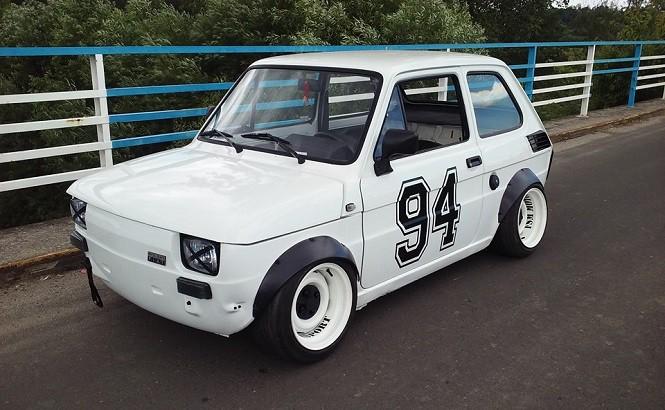 Jak można stuningować Malucha ze stylem? Oto przykład - Fiat 126Pe by Fish'u!