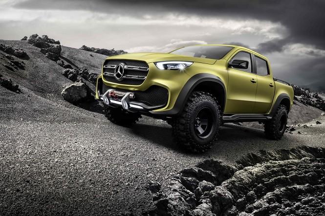 Mercedes zaprezentował koncepcyjną Klasę X w dwóch wersjach