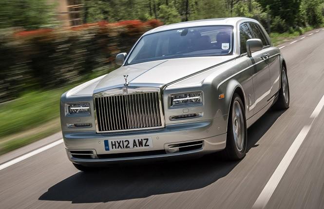 Rolls Royce zakończy produkcję Phantoma z końcem roku