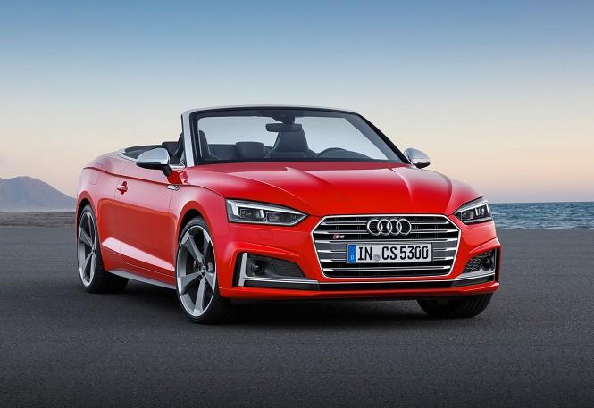 Audi pokazało A5 i S5 w wersji Cabriolet