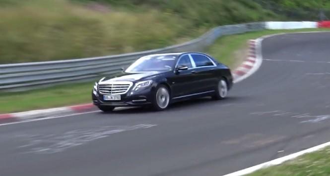 Mercedes-Maybach Klasy S 600 na torze Nurburgring