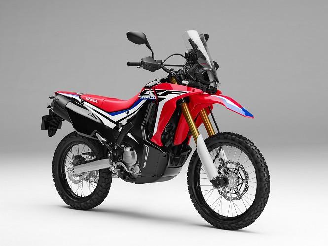 Honda zaprezentowała model CRF250 w wersji Rally