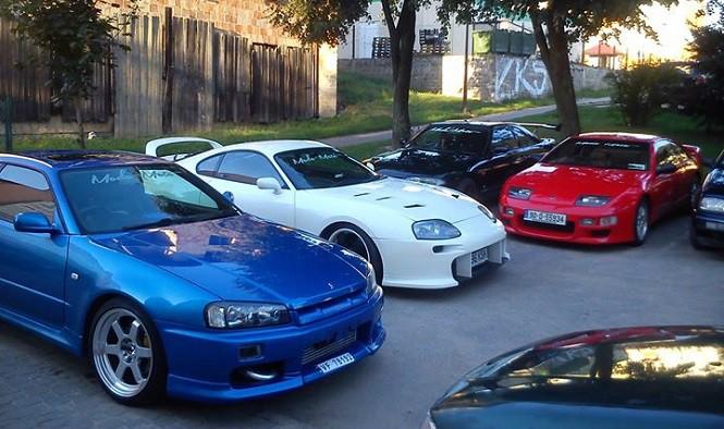 Łomżyńska kolekcja kultowych japońskich aut została wystawiona na sprzedaż
