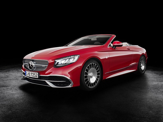 Mercedes-Maybach zaprezentował model S 650 Cabriolet