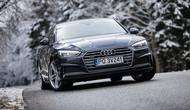 Nowe Audi A5: pierwsza jazda