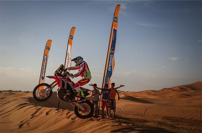 Klip promocyjny przyszłorocznej edycji Rajdu Dakar