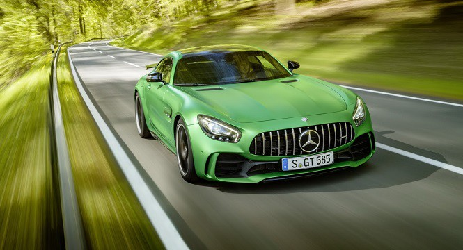 Mercedes-AMG pracuje nad modelem GT w wersji Black Series
