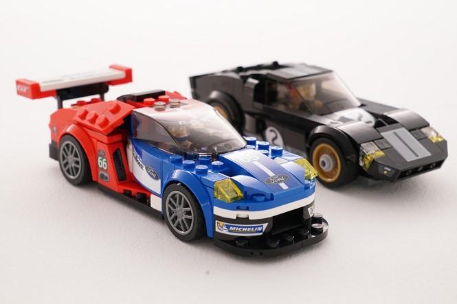 Nowe zestawy Lego z wyścigowymi samochodami Forda