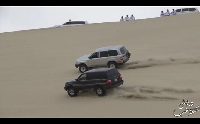 Tak na pustyni bawią się Katarczycy