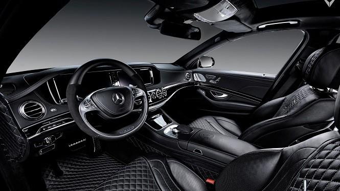 Vilner zmodyfikował wnętrze Mercedesa-AMG S63