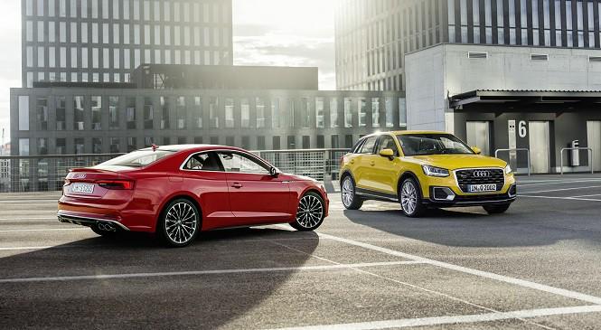 Euro NCAP: pięć gwiazdek dla Audi A5 i dla Audi Q2