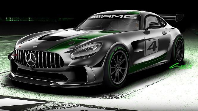 Mercedes-AMG przygotował wyścigówkę klasy GT4 na bazie modelu GT R
