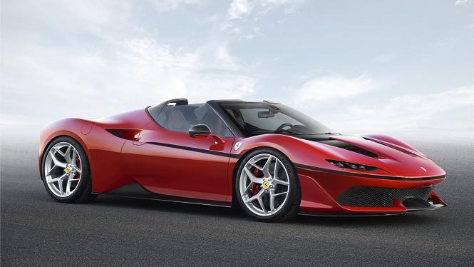 Ferrari J50 z okazji 50-lecia obecności włoskiej firmy w Japonii