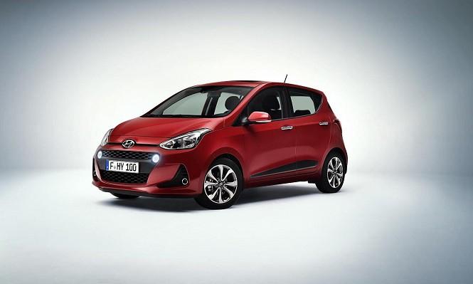 Hyundai odświeżył model i10