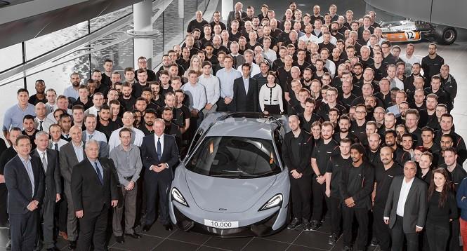 McLaren wyprodukował już 10 tys. aut
