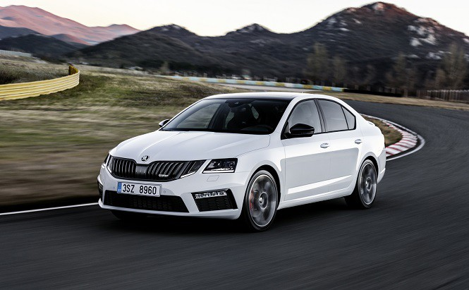 Skoda Octavia RS po faceliftingu