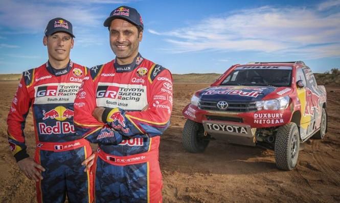 Toyota gotowa do Rajdu Dakar 2017