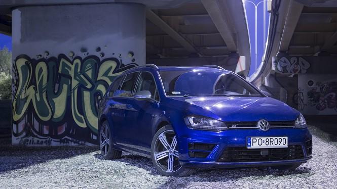 Volkswagen Golf R Variant: bardzo szybkie kombi...