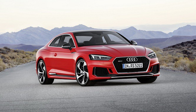 Nowe Audi RS5 Coupe