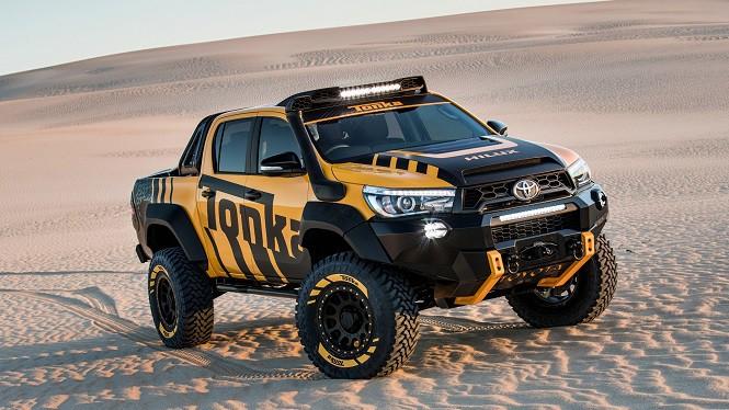 Toyota Hilux Tonka Concept - zabawka dla dorosłych