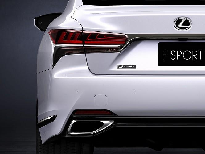 Lexus LS500 F Sport zostanie pokazany w Nowym Jorku