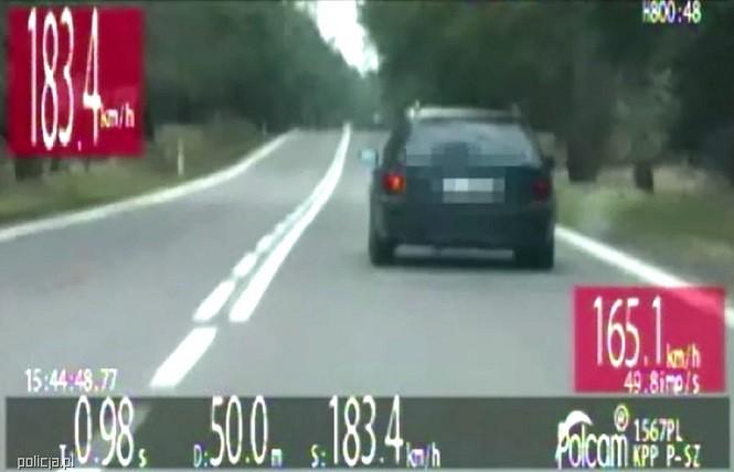 Miał we krwi 2,8 promila alkoholu i gnał z prędkością 183 km/h!