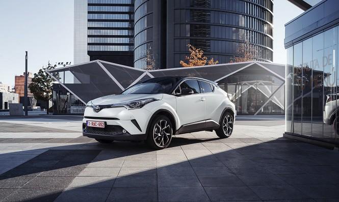Sprzedaż hybryd Toyoty w Europie wzrosła o 50% w pierwszym kwartale 2017 roku