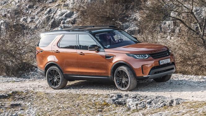 Land Rover Discovery: pierwsza jazda