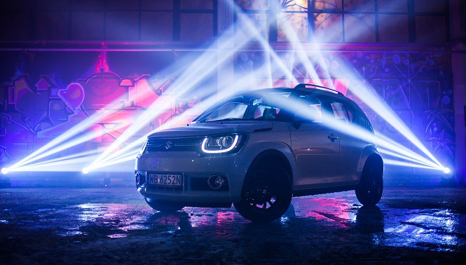 Suzuki Ignis na podium World Urban Car 2017