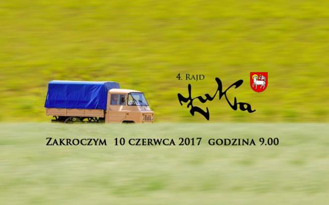 Filip Chajzer zaprasza na Rajd Żuka 2017!