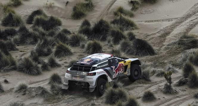 Podwójne zwycięstwo Peugeotów 3008DKR w maratonie