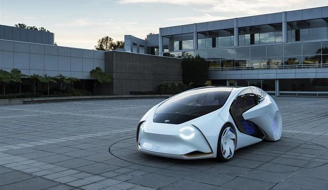 Toyota Concept-i – samochód ze sztuczną inteligencją